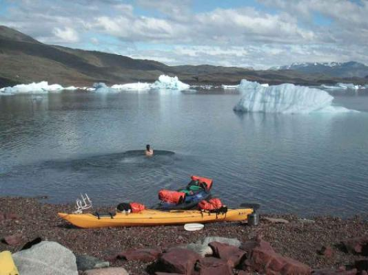 South Greenland Tour Glacier In South Greenland Kayak And Trekking