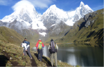 Alpamayo base camp treks  with Peruvian Guides