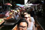 Water way - The Way of lives at Domnern Saduak Floating Market Thailand Tours