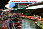 Floating Market Domnern Sadauk Tour