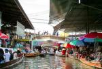 Floating Market Domeon Saduak Tour